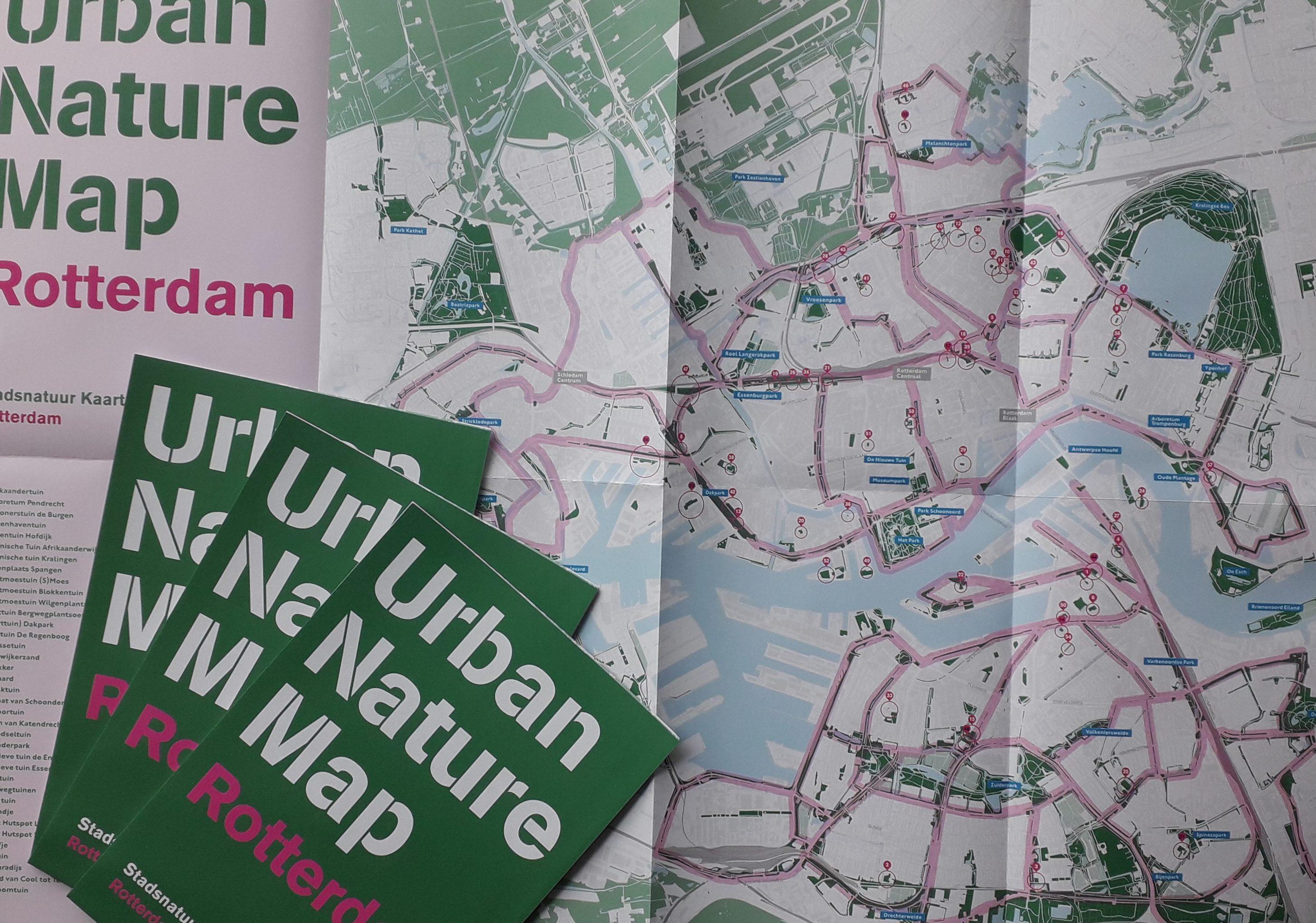 De Stadsnatuurkaart van Rotterdam