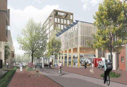 Hubs in bestaande wijken